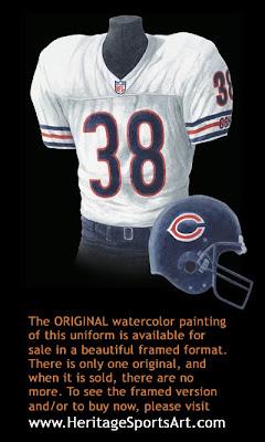Chicago Bears 1999 uniform