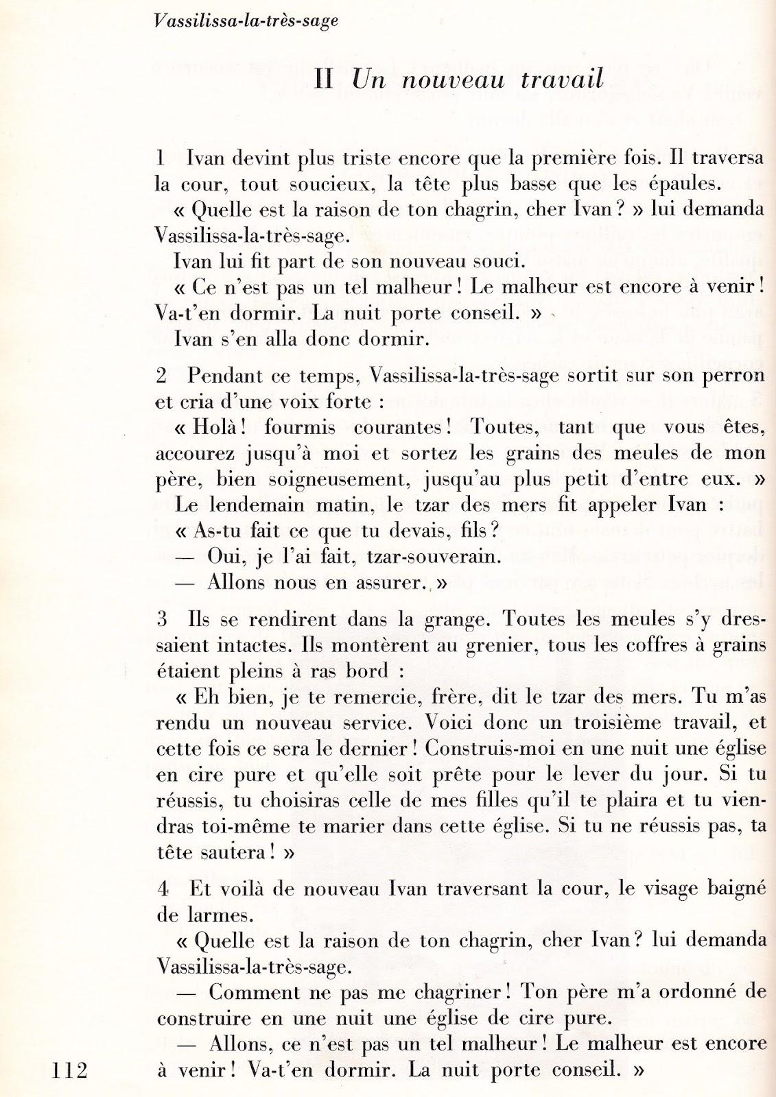 Textes de rfrence - Langue Russe