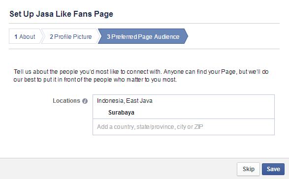 Cara Membuat Halaman Fans Page Facebook gambar 5