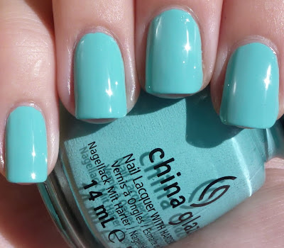 Aquadelic, China Glaze Electropop, swatch