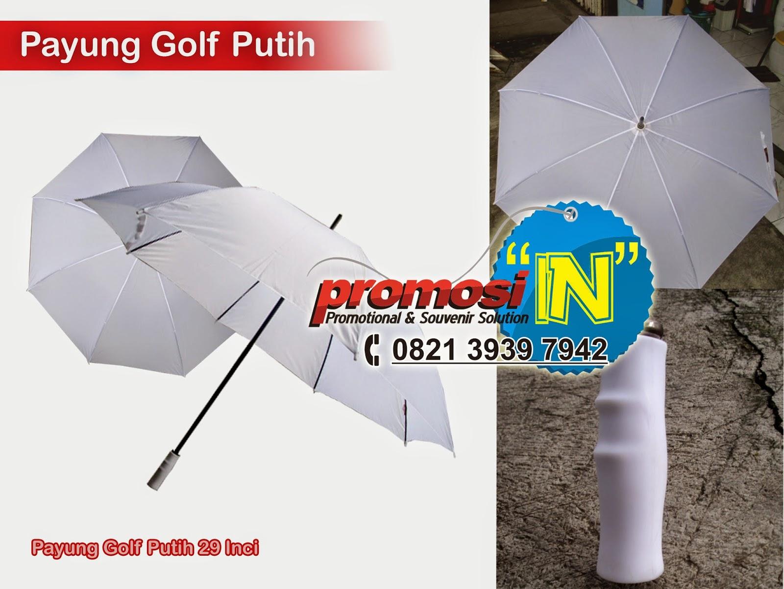 Pesan Payung Promosi, Payung Promosi Sablon, Payung Golf Sablon, Payung Promosi Perusahaan
