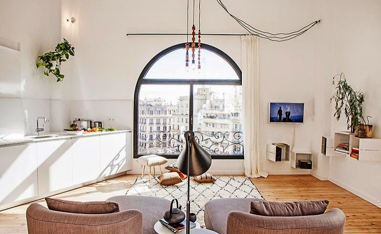 apartment in the eixample of barcelona