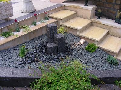 olivier paysage point d 39 eau sur terrasse. Black Bedroom Furniture Sets. Home Design Ideas