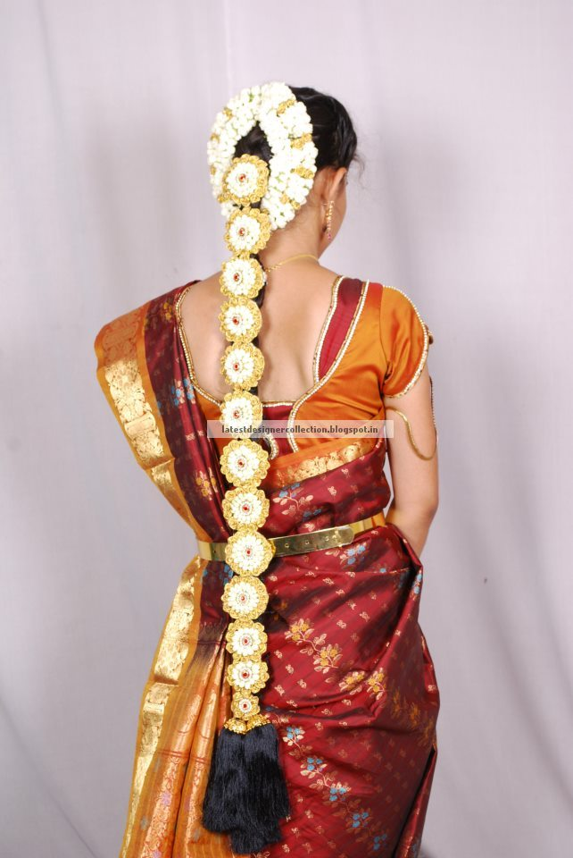 South Indian Bridal Hairstyle Latest Clothing