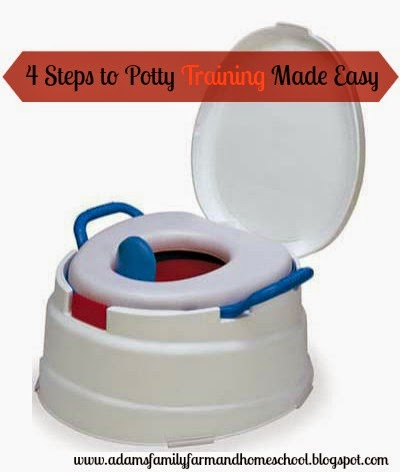 4 simple steps to potty training made easy over a potty chair