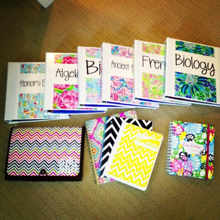 Book Cover School Supplies : Sassypinkgiraffe school supplies haul