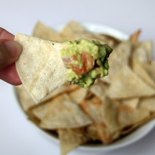 Guacamole and Tortilla Chips by SweeterThanSweets