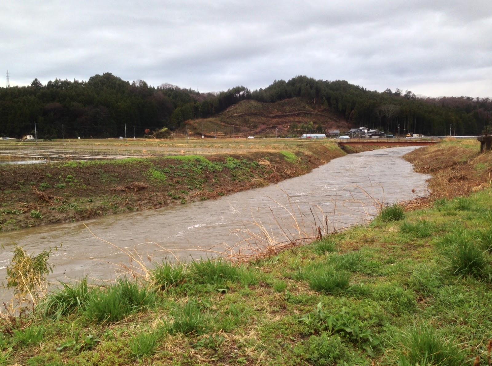 釜戸川 増水