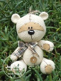 Teddy bear like a Fizzy Moon - Julio Toys Crochet ...