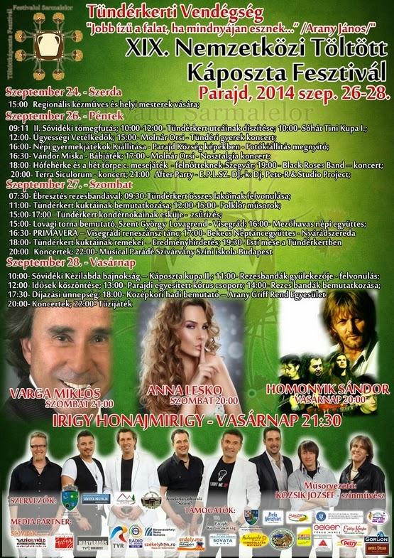 XIX. Nemzetközi Töltött Káposzta Fesztivál