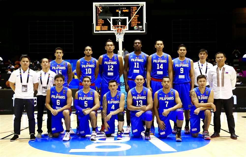 Gilas PILIPINAS FIBA world Cup 2014