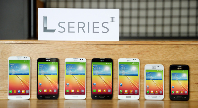 Latest Android phones from LG