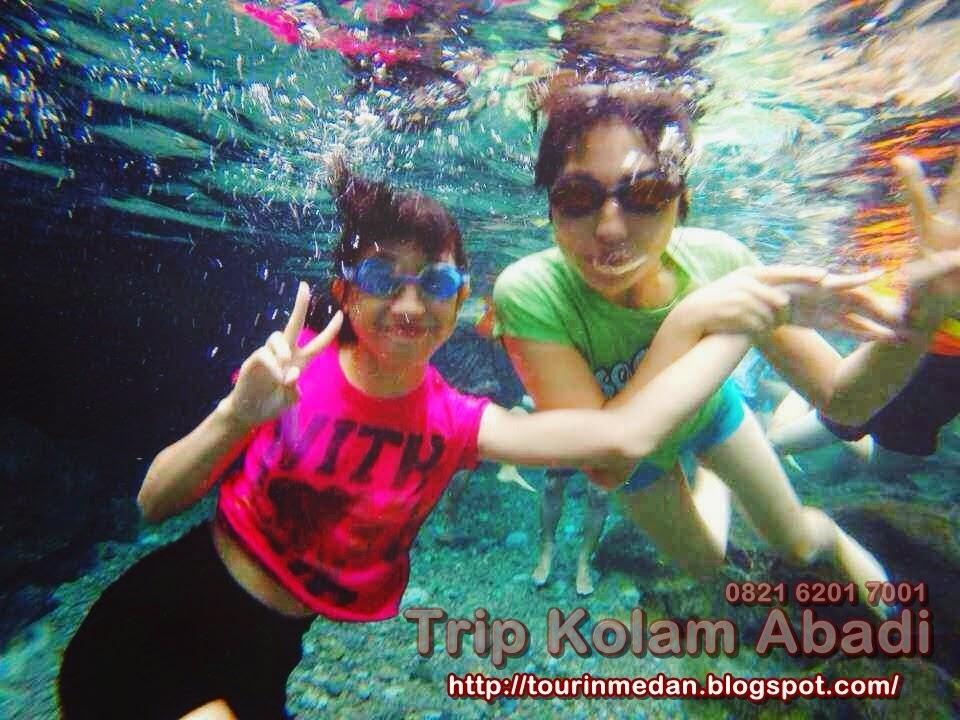 Hiking Medan, Trip Kolam Abadi Medan, Trip Airterjun Dua Warna Medan