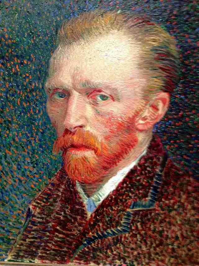 Vincent van Gogh sliced off his ear.