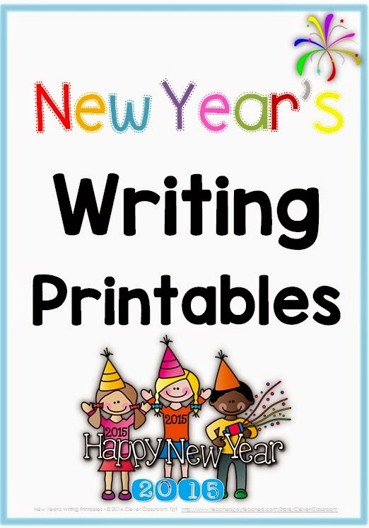 New Year's Writing Printables