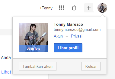 Profile Google