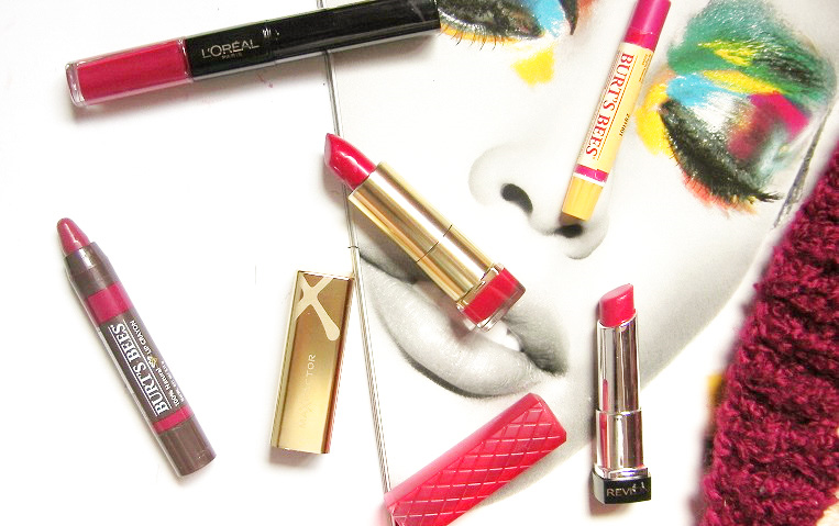 red lipsticks for the holidays