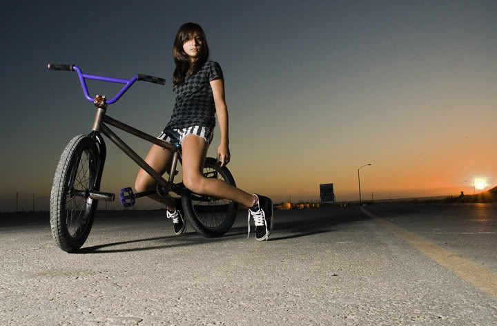 bmx and girl wallpaper - photo #14