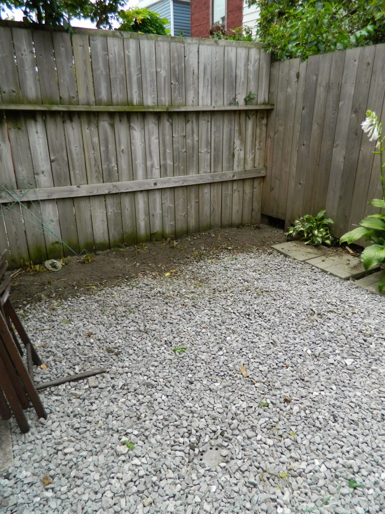 Little Portugal garden cleanup Paul Jung Gardening Services Toronto