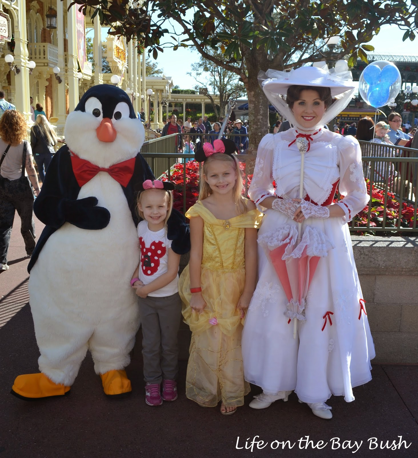 Disney's Magic Kingdom - Meeting Mary Poppins