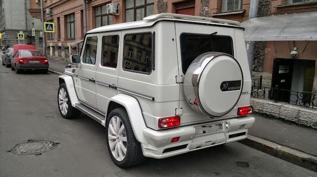 g55 amg white