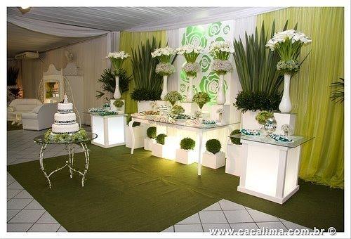 decoracao branca e verde para casamento : decoracao branca e verde para casamento:FOTOS DE DECORAÇÃO DE CASAMENTO EM VERDE E BRANCO