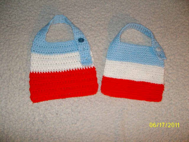 My Jmsq Qunique Patterns Created By Jeanarie Baby Bibs Both