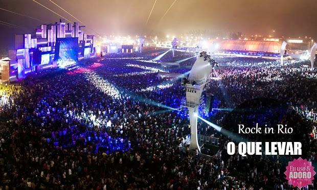 Prepare-se para o Rock in Rio: o que levar