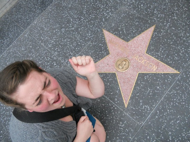 Walk of fame Hollywood LA