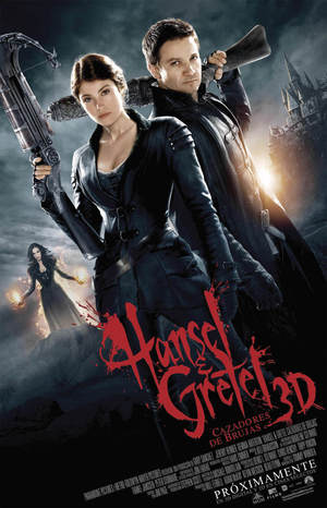 Poster Hansel & Gretel: Witch Hunters 2013