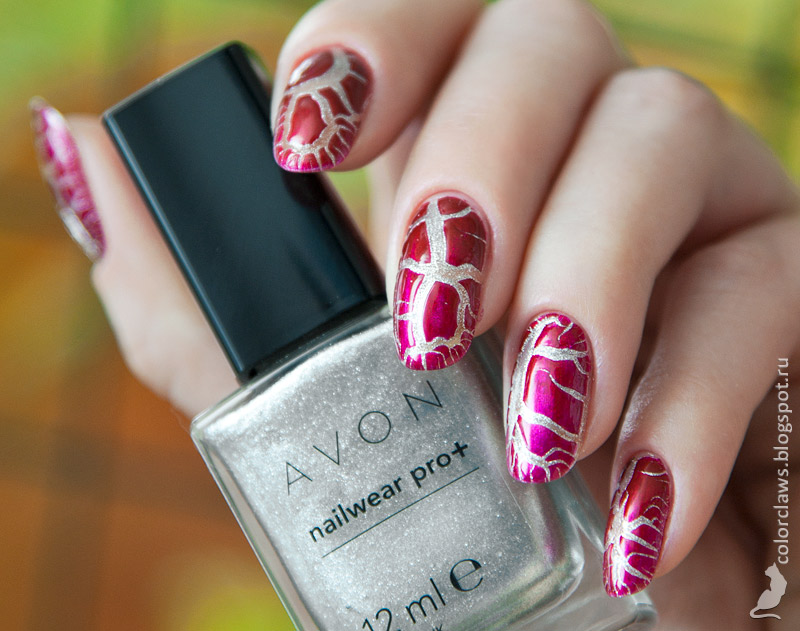 Avon Starry Sky + Barry M Crock Burgundy