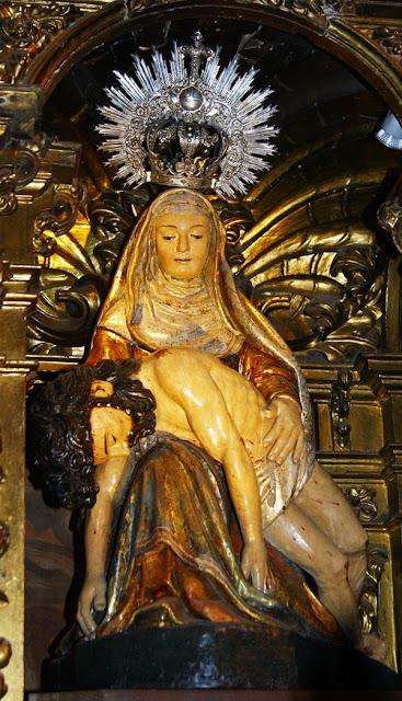 Piedad de la iglesia de San Marcelo. León. Foto G. Márquez.