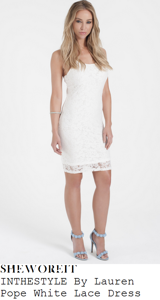billie-faiers-white-sleeveless-lace-dress