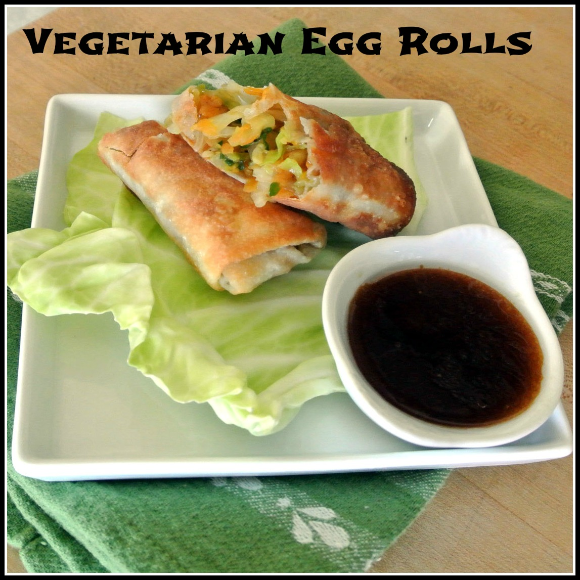 Crunchy Vegetarian Thai Egg Roll Recipe - The Spruce