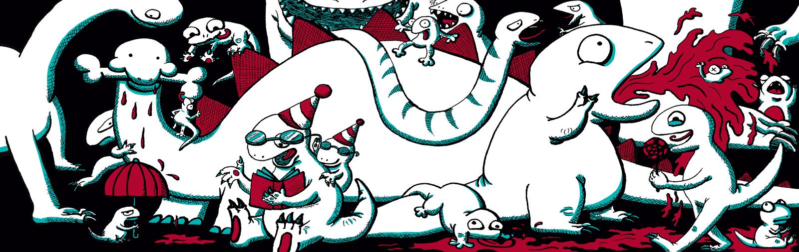 Dino Doodles - Jen Haugan Animation & Illustration