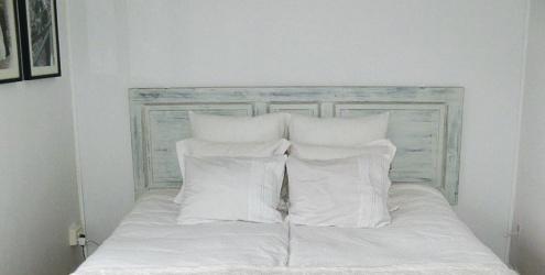 E se esta casa fosse minha cabeceira para cama box - Cortinas improvisadas ...