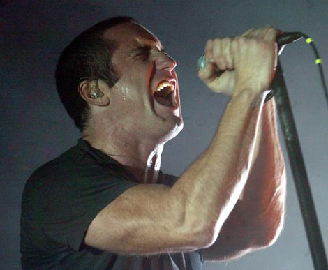 Trent Reznor singing 
