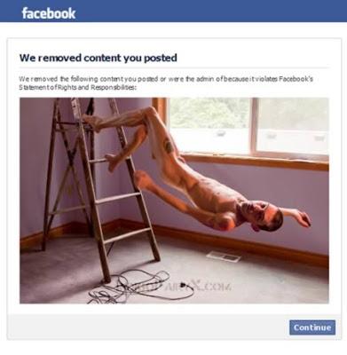 Kumpulan Foto yang Sebelumnya Dianggap Telah Melanggar oleh Facebook