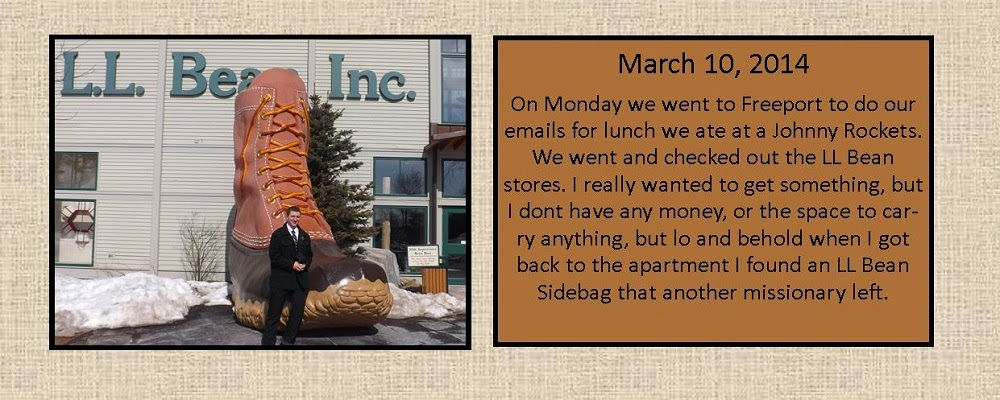 March 10, 2014 - L.L. Bean Inc.