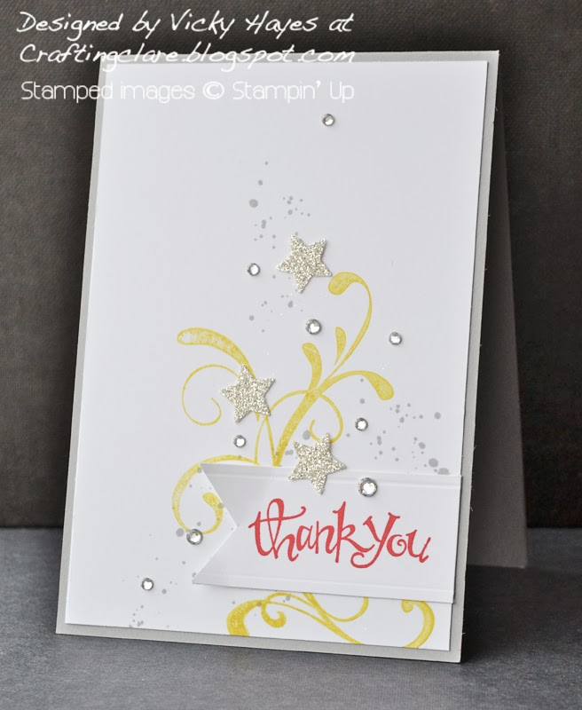 celebration card made with Everything Eleanor from Stampin Up