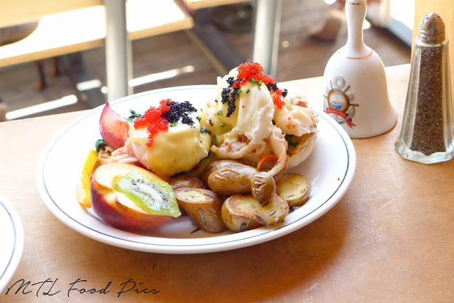 Lobster Egg Benedict - Brunch St-Henri Montreal