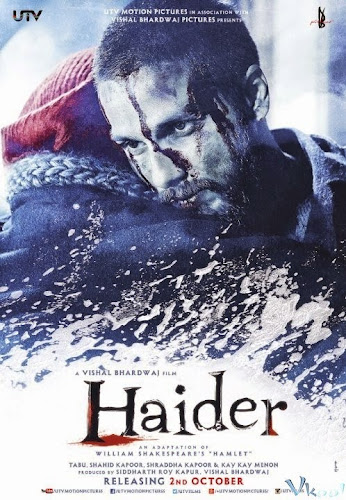 Haider (2014) Movie Poster No. 3