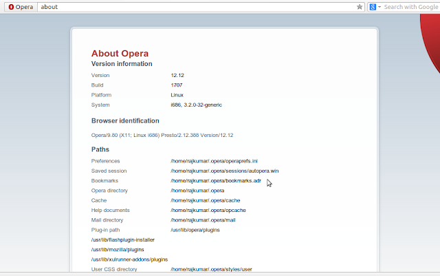 how to install opera 12.12 in ubuntu