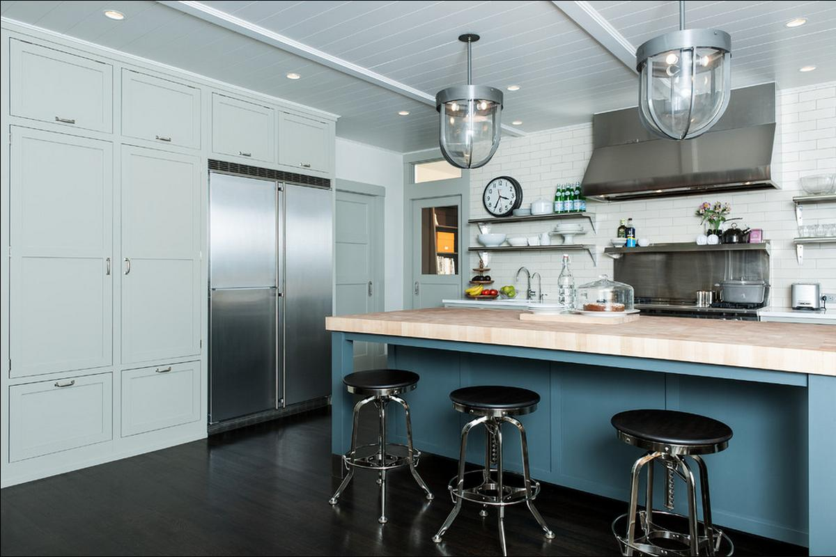 Delorme Designs Gray Kitchen Drool Worthy