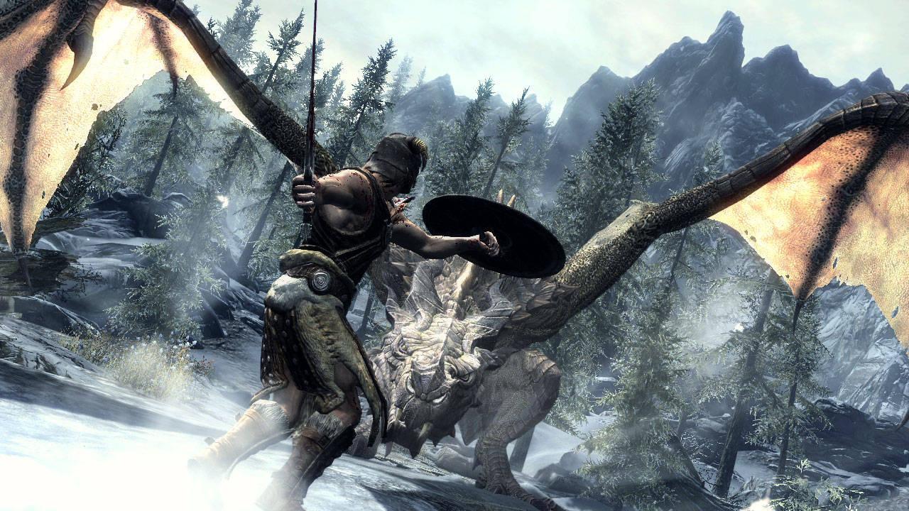 Elder Scrolls V Skyrim Xbox games Desktop Wallpapers
