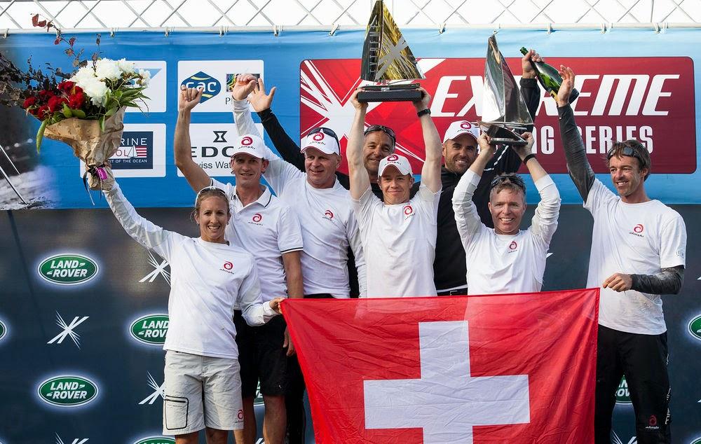 Alinghi vainqueur des Extreme Sailing Series 2014 !