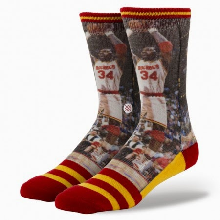 Hakeem Olajuwon Socks