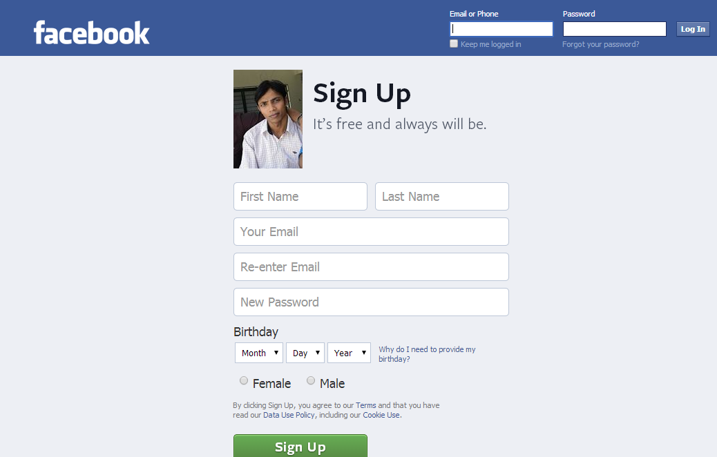 how to start your own facebook page
