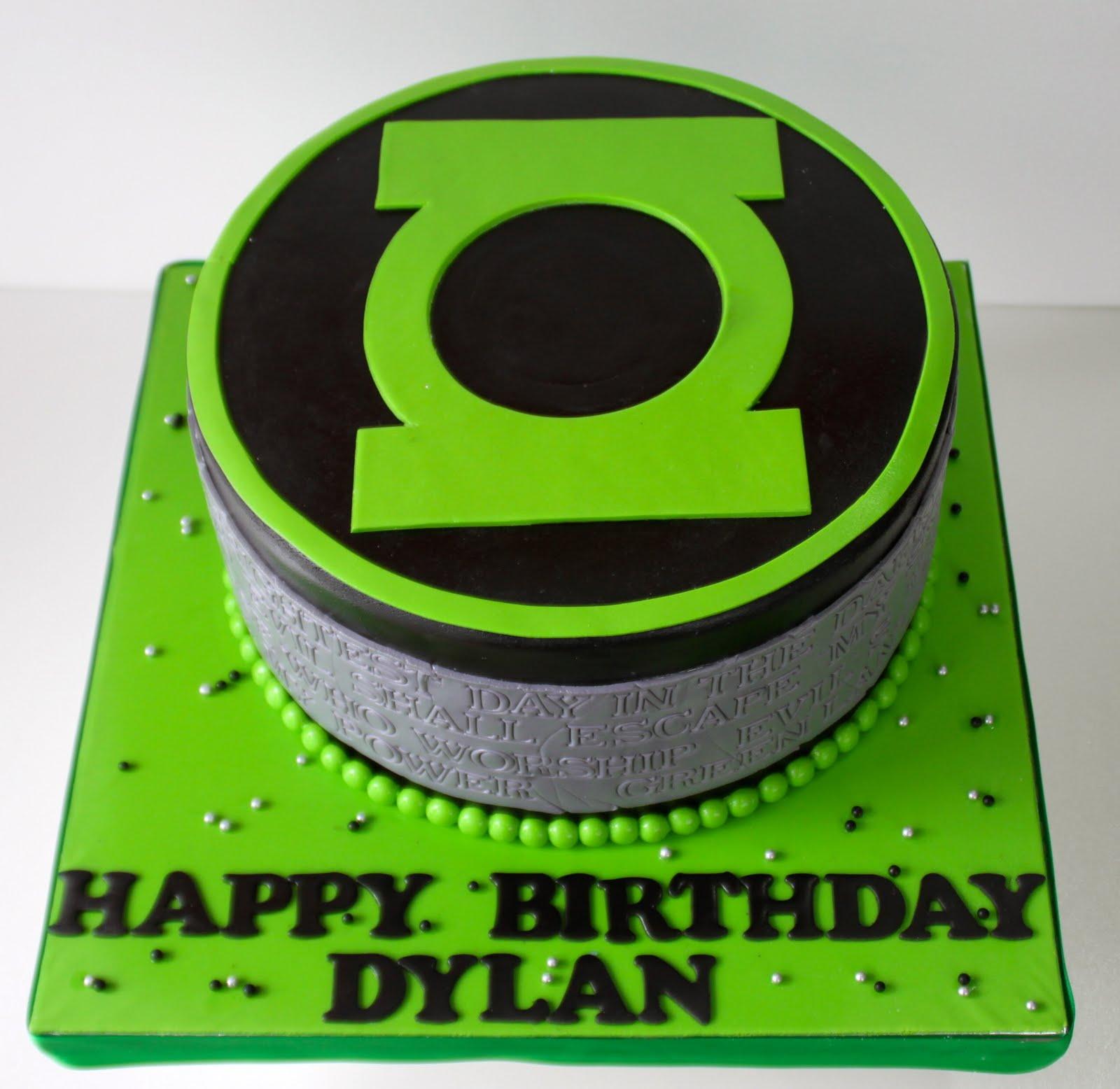 Celebrate with Cake!: Green Lantern Cake