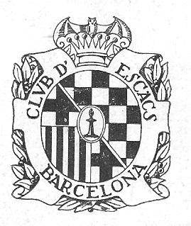 Escudo del Club de Ajedrez Barcelona